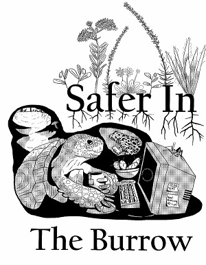 safer in the burrow logo